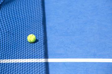 Cancha de tennis.