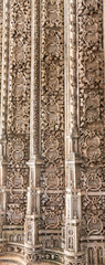Wall of Batalha Monastery