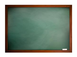 Green blackboard frame