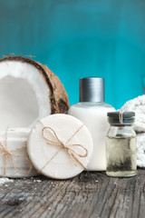 Coconut Natural Cosmetics Spa setting
