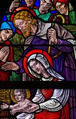 Nativity: birth of Jesus