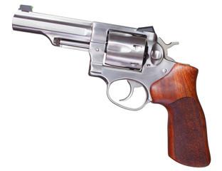 Stainless revolver