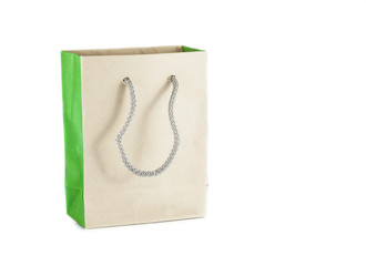 Blank brown paper bag
