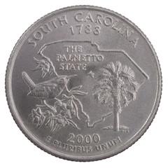 quarter dollar from South carolina