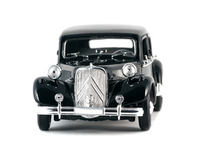 Black vintage retro car