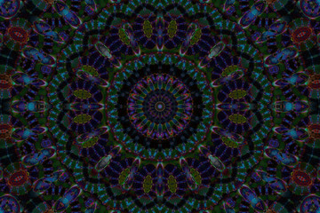 beauty dark mandala