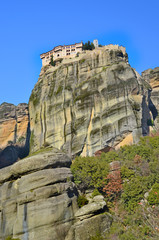 meteora - greek orthodox religion place