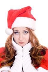 Sad and nice santa