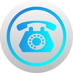 Telephone icon (vector)
