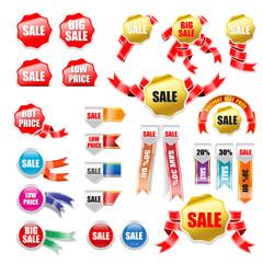 Set of Sale Tag 001
