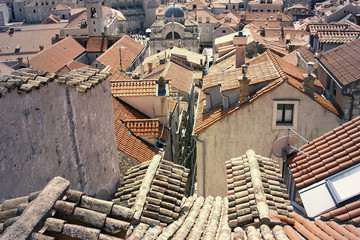 Roof and tiles - Dubrovnik old town
