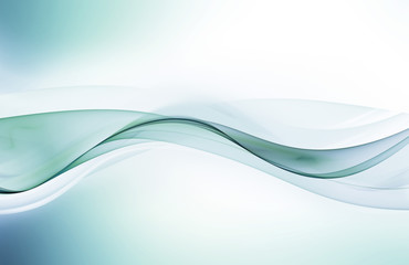 Awesome blue wave for your design