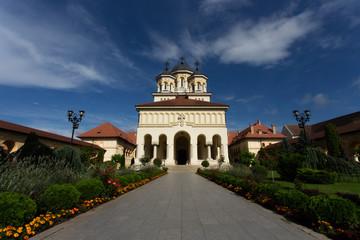 Ortodox church in Alba Iulia, Romania