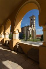 Catholic church in Alba Iulia, Romania