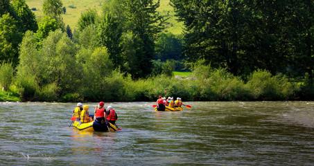 Rafting Dunajcem