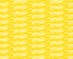 yellow wave pattern