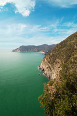 Ligurian coast.
