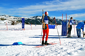 biathlon - winter sports