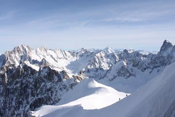 Fantastica vista sulle Alpi
