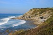 Постер, плакат: Les falaises de Socoa Pays Basque