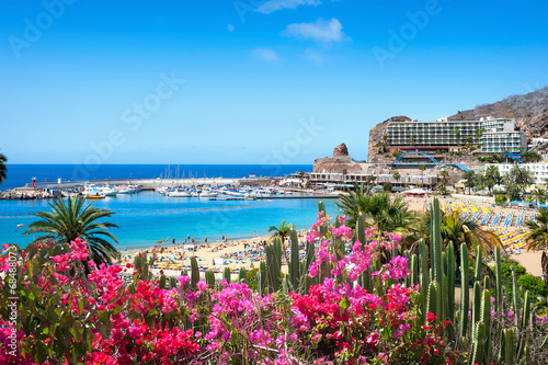 Foto op Canvas Mediterraans Europa Puerto Rico's beach