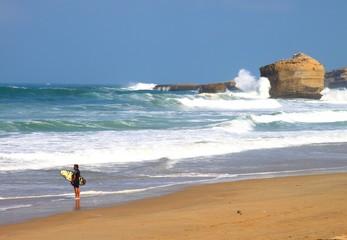 Plage de Biarritz, Pays Basque