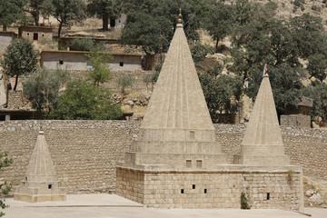 Lalish yezidi temples