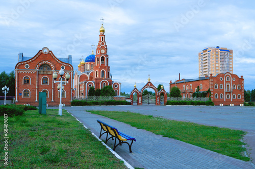 Cathedral of St. Vladimir Novocheboksarsk.