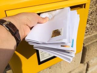 Viele Briefe !