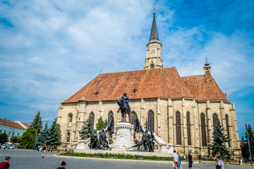 St. Michael's Church Tower, Cluj Napoca, Romania