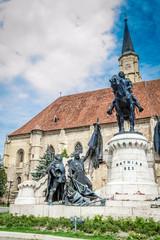St. Michael's Church Tower, Cluj Napoca, Romania