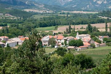 petit village de montagne - Hautes Alpes - France