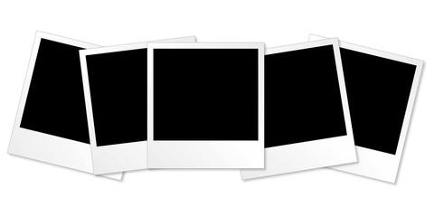 Polaroid Serie - 5 Stück