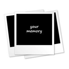 3 Polaroids - your memory