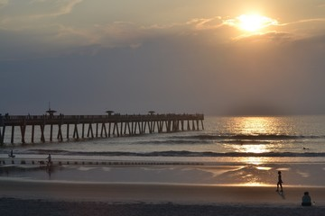 Florida Fishing Pier Sunrise
