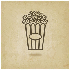 popcorn old background