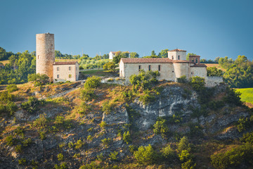 Old ancient building, Pietramaura Emilia-Romagna, San Marino dis