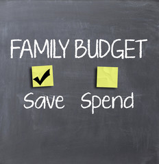 Family budget and expenses
