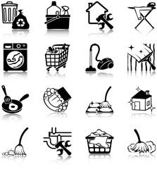 Housekeeping  icons