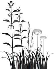 Nettle and grass