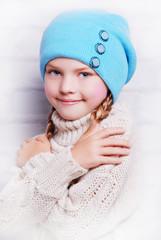 осенняя детская шапка