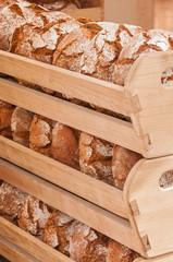 Frisches Brot, Grundnahrungsmittel, Handwerk, Bäckerei