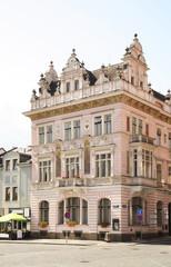 Masaryk Square in Nachod. Czech republic