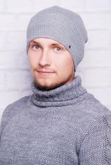 мужчина, шапка, мода