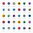 SEO Premium Vector Icon-set