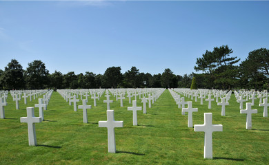 tombes américaines - Colleville sur Mer