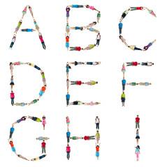 World Children Alphabet A to I