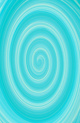 Twirl green blue