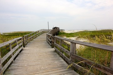 Alabama Beach Boardwalk