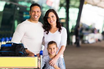 travelling family portrait